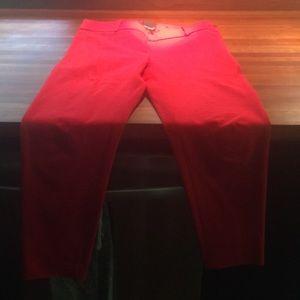 Cynthia Rowley slim leg crops, sz 4, worn once